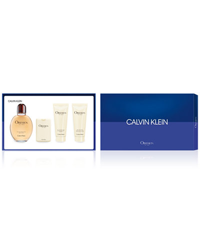 Calvin Klein Men's 4-Pc. Obsession For Men Gift Set