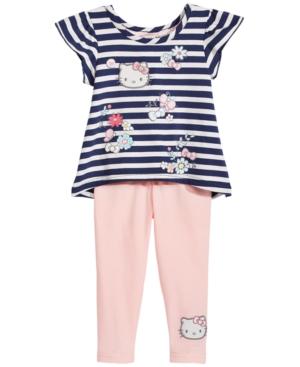 Hello Kitty 2-Pc. Striped...