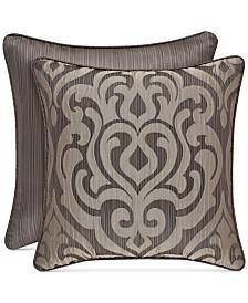 "J Queen New York Astoria 18"" Square Decorative Pillow"