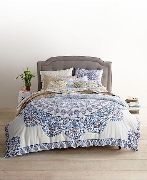 colors in this collection the mandala bedding collection from whim by martha stewart - Martha Stewart Bedding