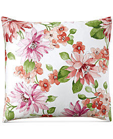 Charter Club Damask Designs Bouquet European Sham, Created for Macy's