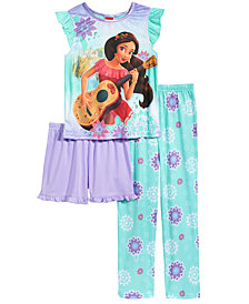 Disney's® Princess Elena of Avalor 3-Pc. Pajama Set, Little Girls & Big Girls