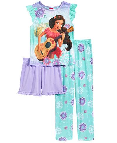 Disney's® Princess Elena of Avalor 3-Pc. Pajama Set, Little Girls & Big Girls