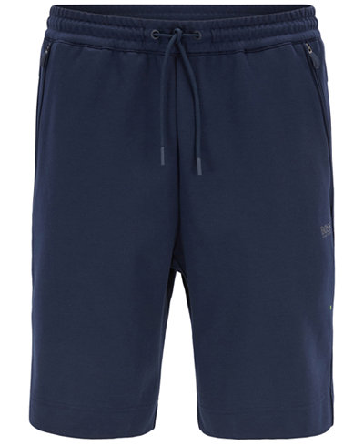 BOSS Men's Slim-Fit Jersey Sweat Shorts