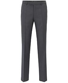 BOSS Men's Regular/Classic-Fit Virgin Wool Pants