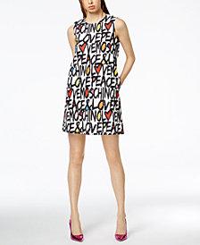 Love Moschino Graphic-Print Mini Dress