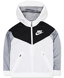 Nike Windrunner Hooded Colorblocked Jacket, Little Boys