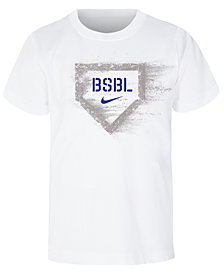 Nike BSBL-Print T-Shirt, Toddler Boys