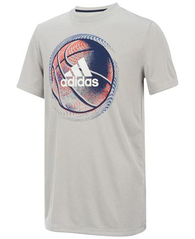 adidas Basketball-Print T-Shirt, Toddler Boys