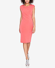 RACHEL Rachel Roy Draped Cap-Sleeve Dress, Created for Macy's