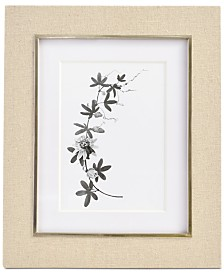 "CLOSEOUT! Martha Stewart  Collection Linen 5"" x 7"" Frame, Created for Macy's"