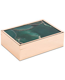 Zuo Green Stone Large Decorative Box
