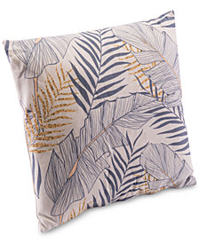 Zuo Tropical Gray Pillow