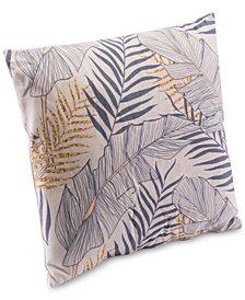 Zuo Tropical Gray Pillow