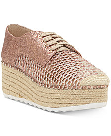 I.N.C. Women's Abrelia Espadrille Platform Sneakers, Created for Macy's
