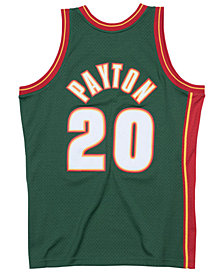 Mitchell & Ness Men's Gary Payton Seattle SuperSonics Hardwood Classic Swingman Jersey