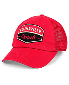 Top of the World Louisville Cardinals Society Adjustable Cap