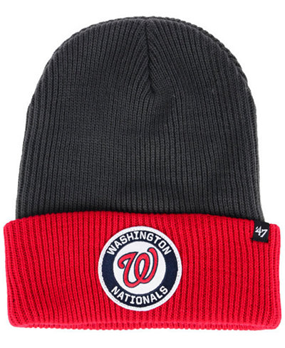 '47 Brand Washington Nationals Ice Block Cuff Knit