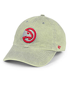 '47 Brand Atlanta Hawks Cement CLEAN UP Cap