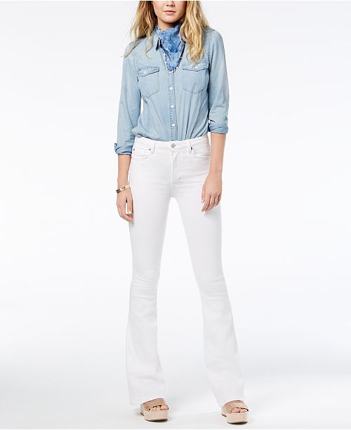 03dbb715d90 Hudson Jeans Holly High-Rise Flare Jeans & Reviews - Jeans - Juniors ...
