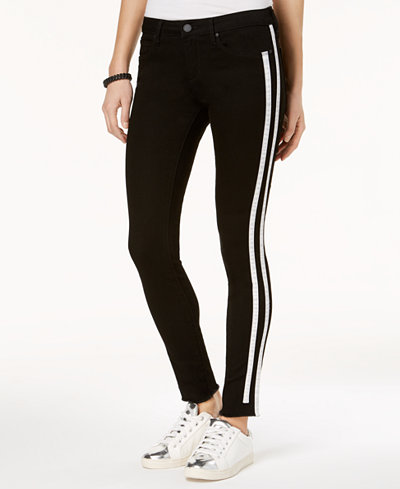 Articles of Society Sarah Ankle Skinny Striped Jeans