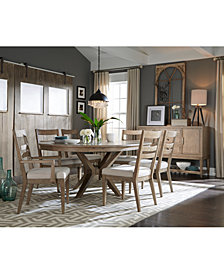 Bridgegate Round Expandable Dining Furniture Collection