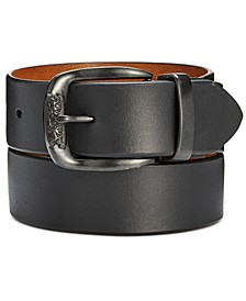Men's Smooth Leather Reversible Belt