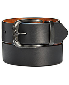 Levi's Men's 40MM Smooth Leather Reversible Belt