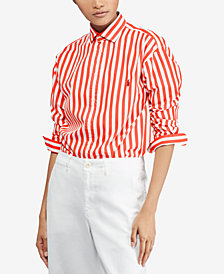 Polo Ralph Lauren Bengal-Striped Cotton Shirt