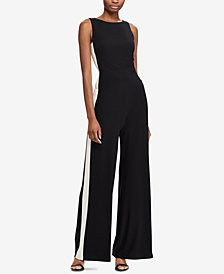 Lauren Ralph Lauren Two-Tone Jumpsuit