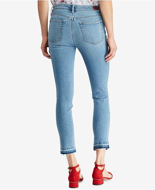 5b94dde9073 Lauren Ralph Lauren Premier Straight Crop Jeans   Reviews - Jeans ...