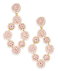 I.N.C. Gold-Tone Sequin Drop Earrings, Created for Macy's