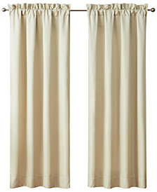 "Waterford Annalise  Pole Top Pair 100"" x 84"" Window Drapery"