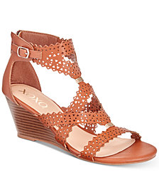 XOXO Satisha Wedge Sandals