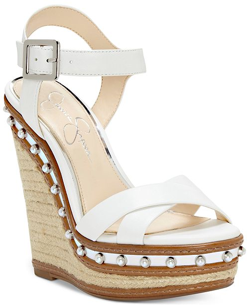2c76f8342cf Jessica Simpson Aeralin Wedge Sandals   Reviews - Sandals   Flip ...