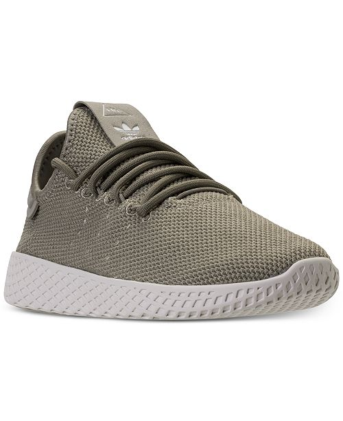 ... adidas Big Boys  Originals Pharrell Williams Tennis HU Casual Sneakers  from Finish ... 4b5bf1435ad1