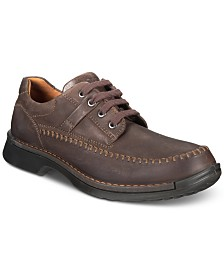 Ecco Men's Fusion II Moc-Toe Lace-Up Oxfords