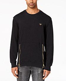 True Religion Men's Side-Zipper Sweater