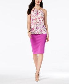 Thalia Sodi Halter Top & Pencil Skirt, Created for Macy's