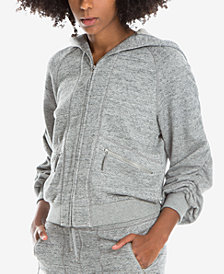 Max Studio London Heathered Hoodie, Created for Macy's
