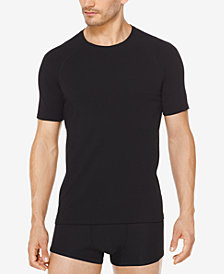 Michael Kors Men's Stretch Factor Crew-Neck Undershirts, 2-Pack