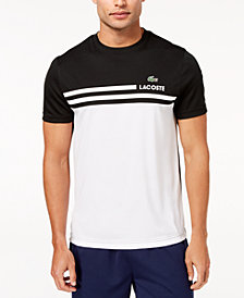 Lacoste Men's Ultra Dry Colorblocked Logo-Print Piqué T-Shirt, Created for Macy's