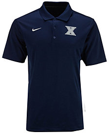 Nike Men's Xavier Musketeers Varsity Team Logo Polo