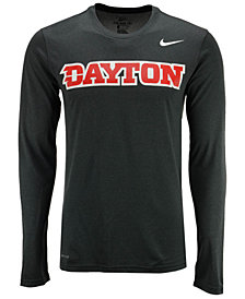 Nike Men's Dayton Flyers Dri-FIT Legend Wordmark Long Sleeve T-Shirt