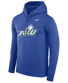 Nike Men's Florida Gulf Coast Eagles Therma Logo Hoodie