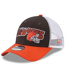 New Era Boys' Cleveland Browns Trucker Joy 9FORTY Cap