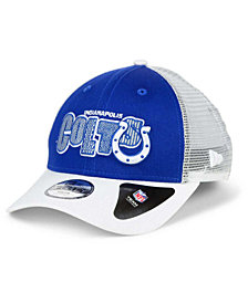 New Era Boys' Indianapolis Colts Trucker Joy 9FORTY Cap
