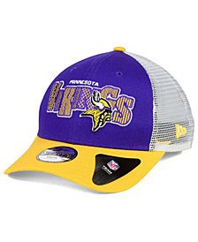 New Era Boys' Minnesota Vikings Trucker Joy 9FORTY Cap