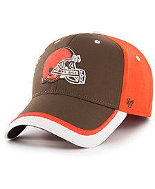 '47 Brand Cleveland Browns Crash Line Contender Flex Cap