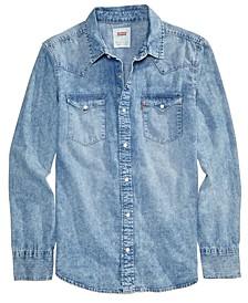 Men's Standard Barstow Western Long-Sleeve Denim Shirt